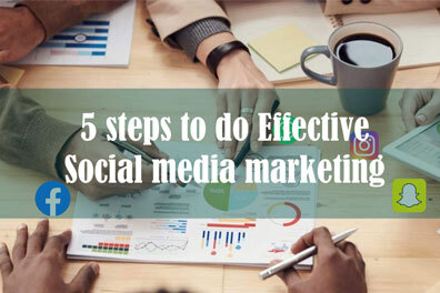 5 Steps to do Effective Social Media Marketing