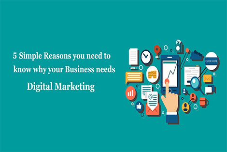 5 simple reasons you need to know why your business needs Digital Marketing