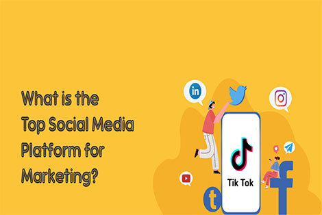 What is the top Social Media Platform for Marketing?
